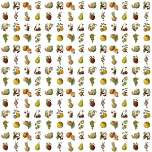 Repeating Pattern - Assorted Fruit