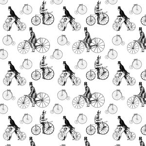 Repeating Pattern - Bicycles