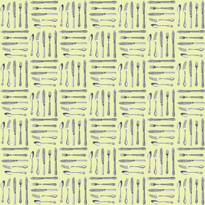 Repeating Pattern - Cutlery