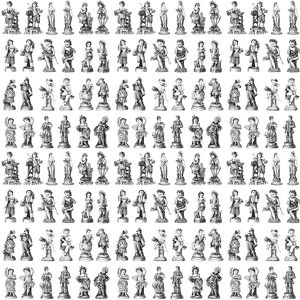 Repeating Pattern - Figurines