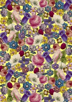 Repeating Pattern - Floral Assemblage