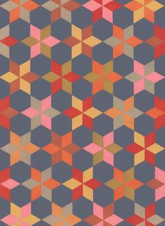 Repeating Pattern - geometrical stars
