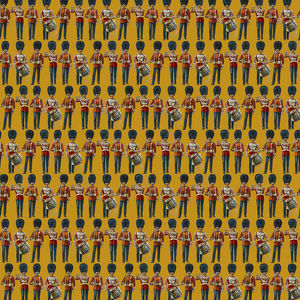 Repeating Pattern - guardsmen, yellow