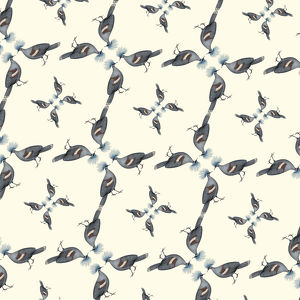 Repeating Pattern - Pigeons