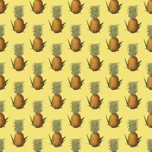 Repeating Pattern - Pineapples