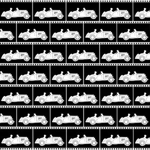 Repeating Pattern - Sports car