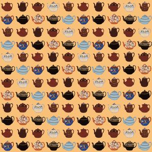 Repeating Pattern - Teapots