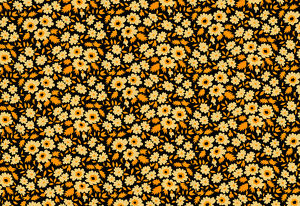 Repeating Pattern - Yellow Flowers