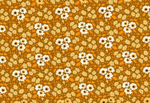 Repeating Pattern - Yellow and White Flowers