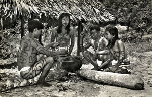 new items grenville collins collection/rio ampayaco peru bora indians village