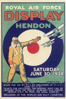 Royal Air Force Display Poster, Hendon