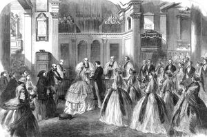 Royal Wedding 1866 -- Princess Mary of Cambridge