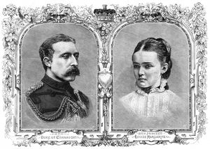 Royal Wedding 1879 -- Duke of Connaught & Princess Louise