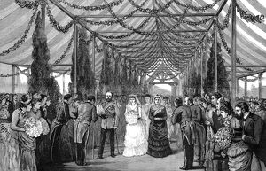 Royal Wedding 1885 -- Princess Beatrice and Prince Henry