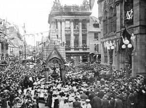 Royal wedding 1893 - celebrations at Inverness