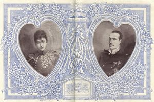 Royal Wedding 1896 -- Princess Maud and Prince Carl