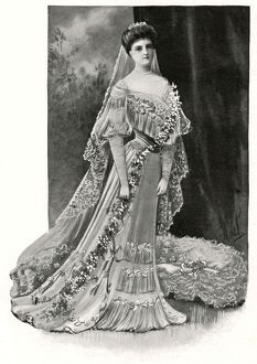 Royal Wedding 1904 -- Princess Alice of Albany