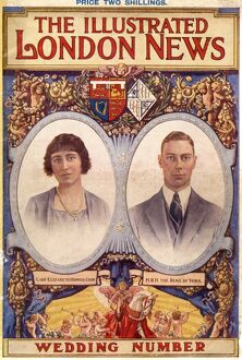 Royal Wedding 1923 - ILN front cover