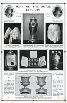 Royal Wedding 1923 - some of the presents