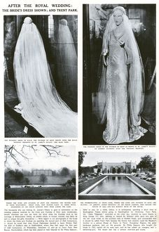 Royal Wedding 1934 - bride's dress and Trent Park