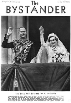 Royal Wedding 1935 -- Duke and Duchess of Gloucester