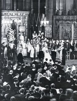 Royal Wedding 1947 - marriage ceremony