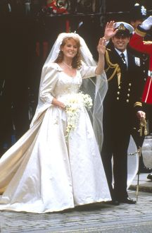 Royal Wedding 1986 - just married
