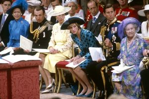 Royal Wedding 1986 - the royal family