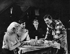 Scene from the play 'Look Back In Anger' by John Osborne