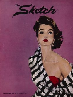 Sketch front cover 1955 by David Wright