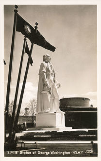 new items grenville collins collection/statue george washington new york worlds fair