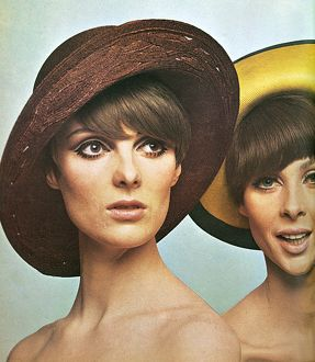 Straw hats by Otto Lucas Junior and Chez Elle