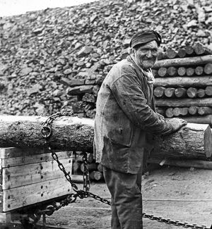 Surface worker, South Wales colliery