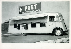 new items grenville collins collection/swiss mobile post office