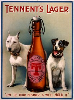 Tennent's Lager advert