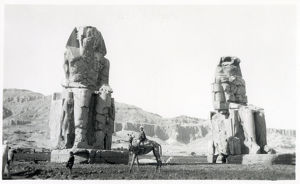 new items grenville collins collection/thebes upper egypt north africa colossi memnon