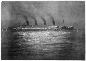 TITANIC AT CHERBOURG