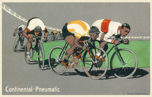 new items grenville collins collection/track cycling race continental pneumatic ad