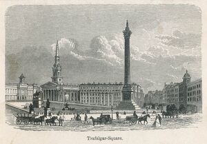 TRAFALGAR SQ BEFORE LION