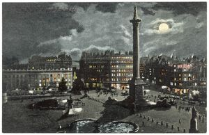TRAFALGAR SQUARE NIGHT