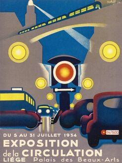 TRAFFIC EXPOSITION 1934