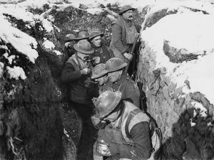 In the trenches 1917
