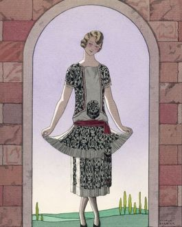 TUNIC DRESS/WORTH 1924