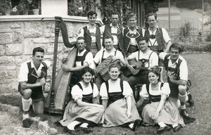 new items grenville collins collection/tyrolean austrian musicians singers