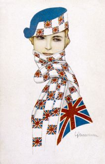 UNION JACK HAT & SCARF