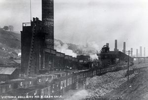 Victoria Colliery, Ebbw Vale, Gwent, South Wales