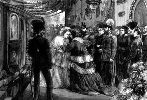 The wedding of Prince Alfred, Duke of Edinburgh and the Gran