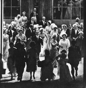 Wedding of Princess Margaret - the Going Away
