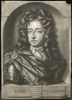 WILLIAM III MEZZOTINT