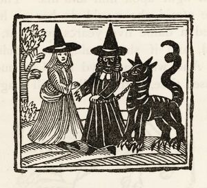 WITCHES AND A FAMILIAR